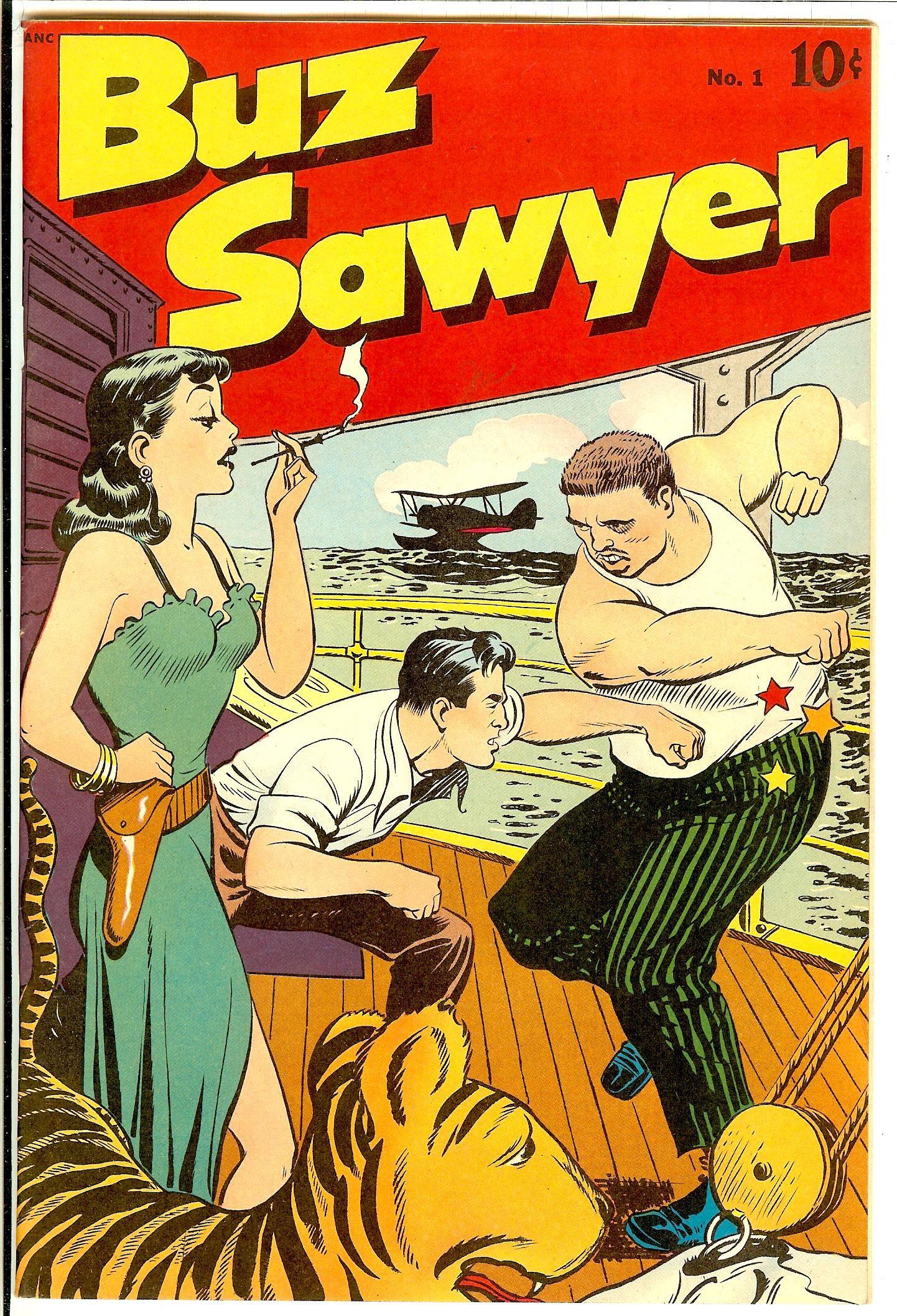 Buz Sawyer 1 Standard Pulp Fiction Comics Classic Comics Newspaper Comic Strip