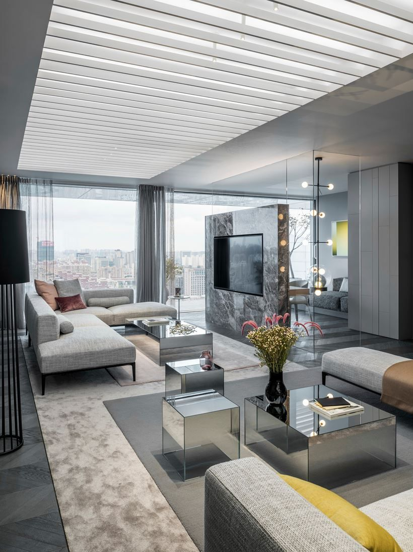 Show apartments  shades of grey picture gallery interior design lounge loft also lu xu ry in rh pinterest