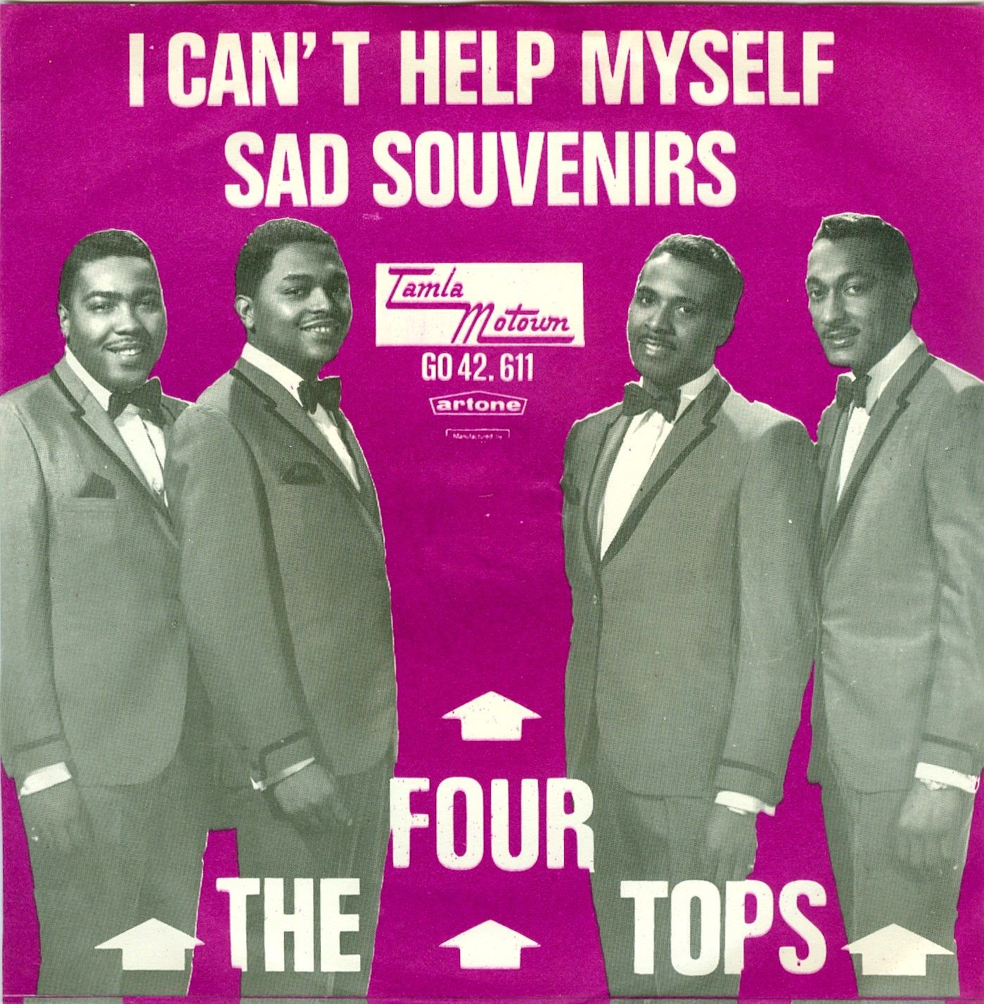 June 19, 1965 - The Four Tops went to No.1 on the US singles chart with 'I Can't Help Myself'. Written and produced by Holland–Dozier–Holland, the song is one of the most well-known Motown tunes of the 1960s. Lead singer Levi Stubbs was not satisfied with the recording session and was promised that he could do it again the following day, but no other session ever took place. The track that became a hit was the second take of the song. •• #fourtops #thisdayinmusic #motown