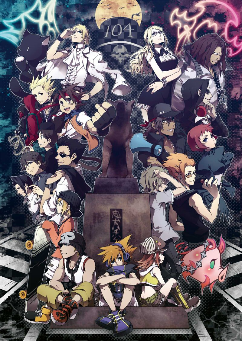 The World Ends With You Twewy Photo The World Ends With You End Of The World Anime Images World
