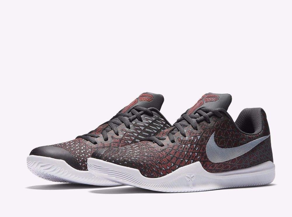 dec0a25ab074 Nike KOBE Mamba Instinct Mens Basketball Shoes 11 Anthracite Black 852473  006  Nike  BasketballShoes