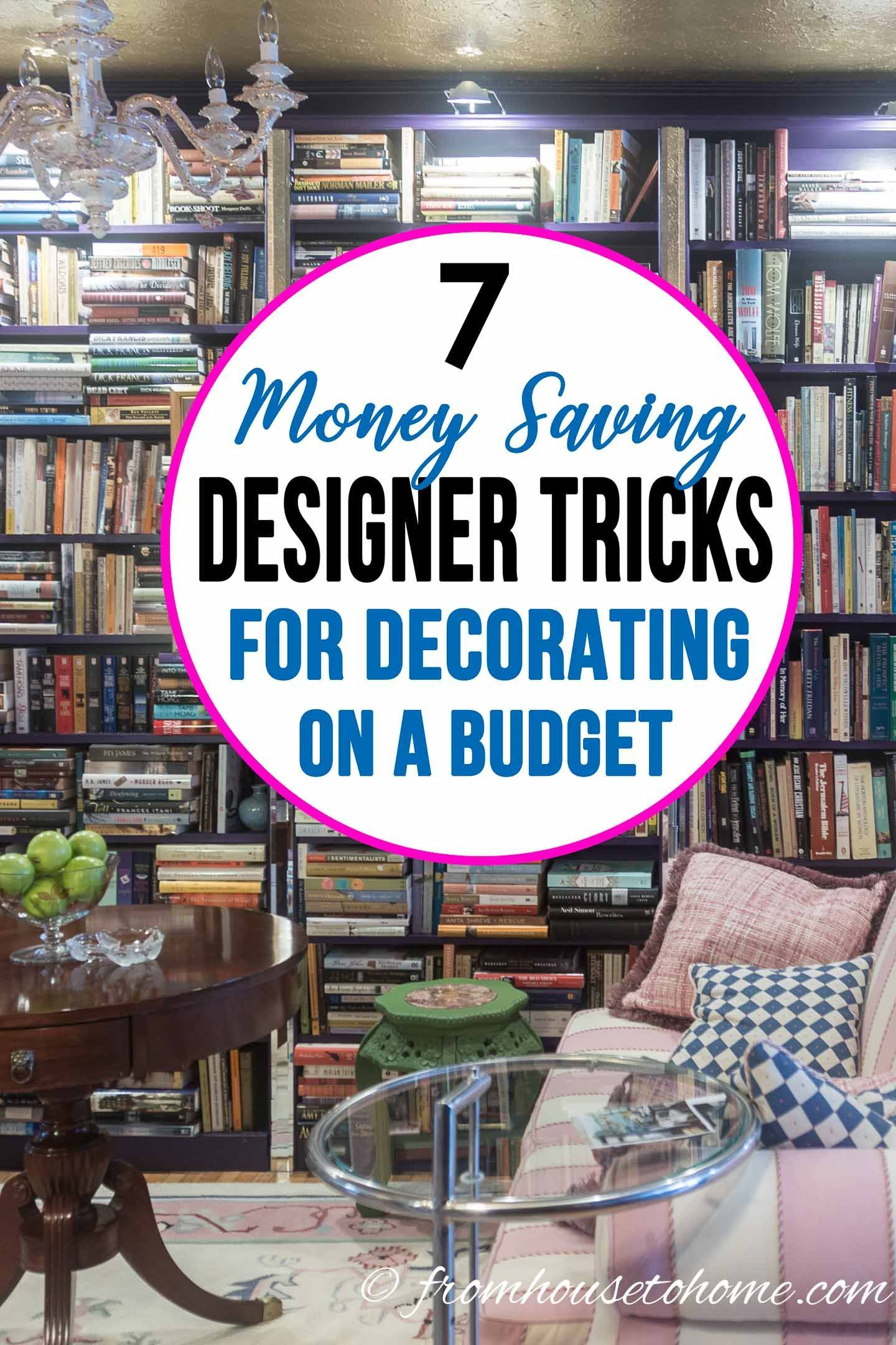How To Decorate Your Home On A Budget With Images Living Room