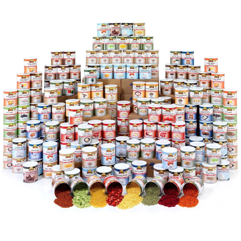 Augason farms emergency food storage kit 1 year4 people