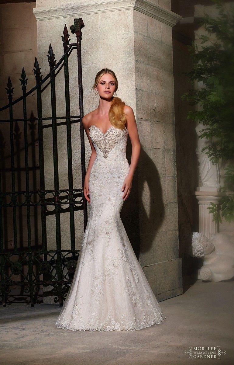 mori-lee-2724-wedding-dress-strapless-sweetheart-neckline-button ...