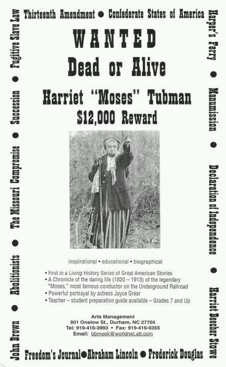 Harriet Tubman | Notable Blacks- history to present | Pinterest ...