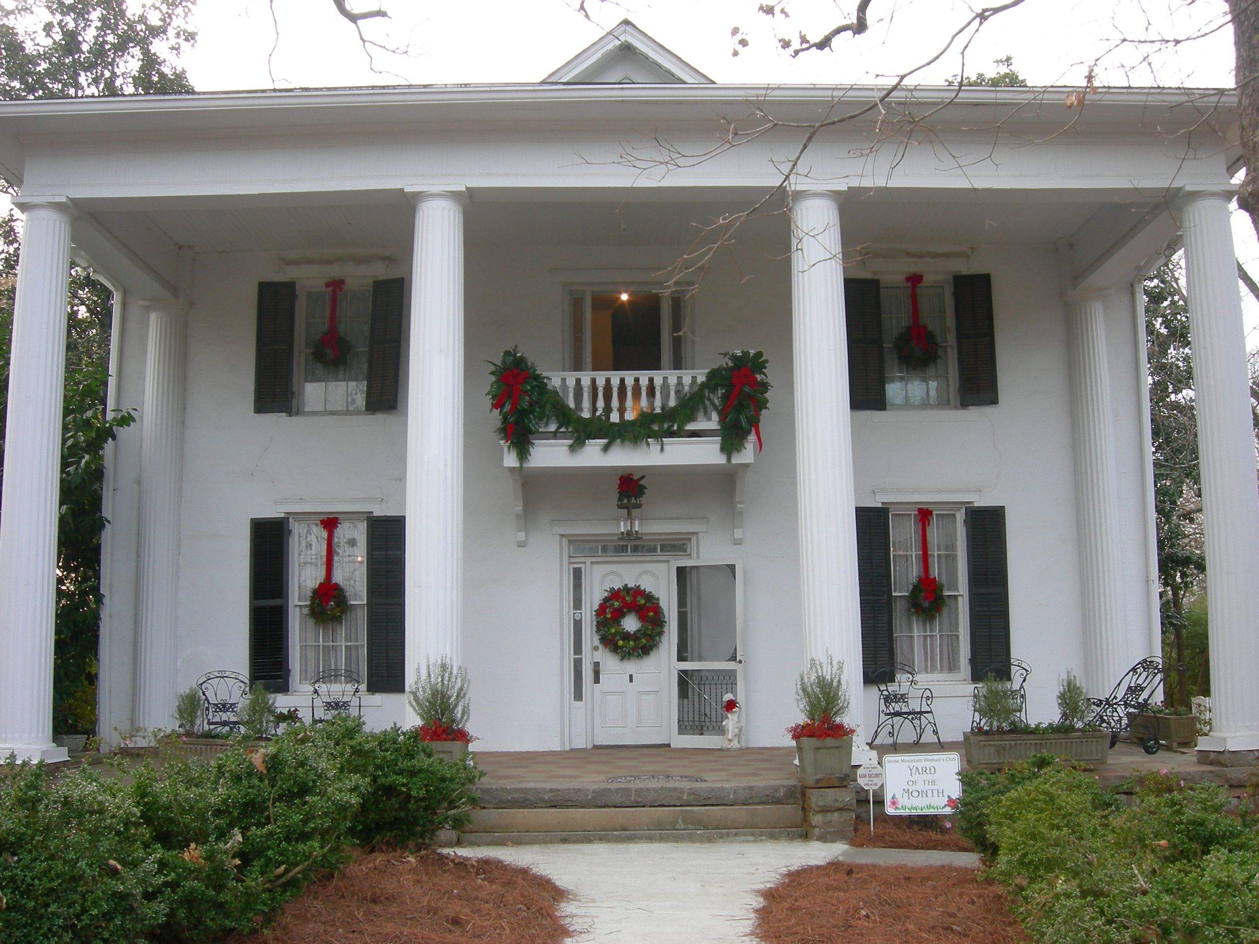 Wells Brown House View Of Front Of Home Greek Revival Home House Viewing Greek Revival
