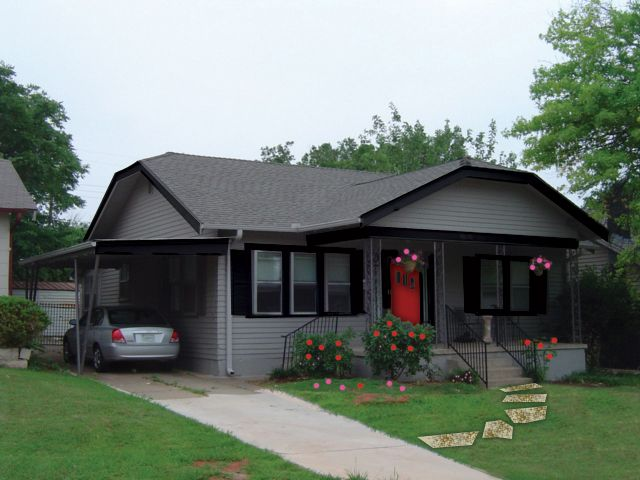 Gray Houses With Black Trim Google Search