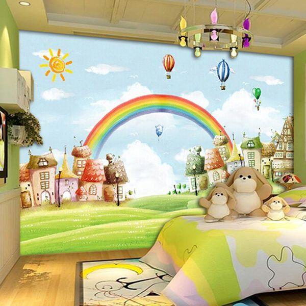 Best Free Shipping 3D Custom Mural Wallpaper Children S Room 400 x 300