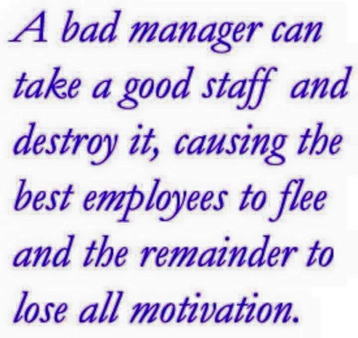 Quotes about Bad bosses (28 quotes)