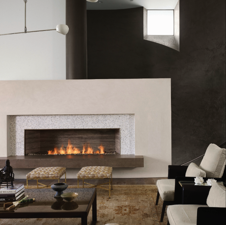 Floating Hearth Amp Two Simple Layers Modern Fireplace