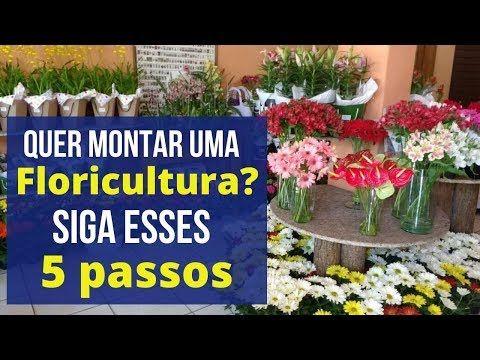 Como montar uma floricultura/Como Montar floricultura de pequeno porte - YouTube