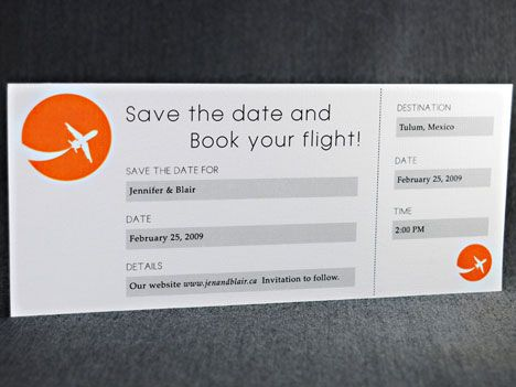 Destination wedding invite Keep in mIn for Family who travel out of