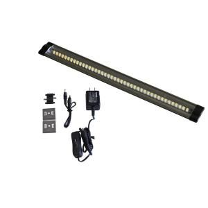 Radionic Hi Tech Inc., ECO 12 in. Aluminum 3-Watt Under Cabinet Fixture with 48 LEDs, Eco-Striplight-1 at The Home Depot - Mobile