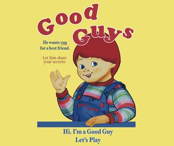 88776827 Child's Play Good Guys Chucky T-Shirt | cartoon | Chucky, Childs ...
