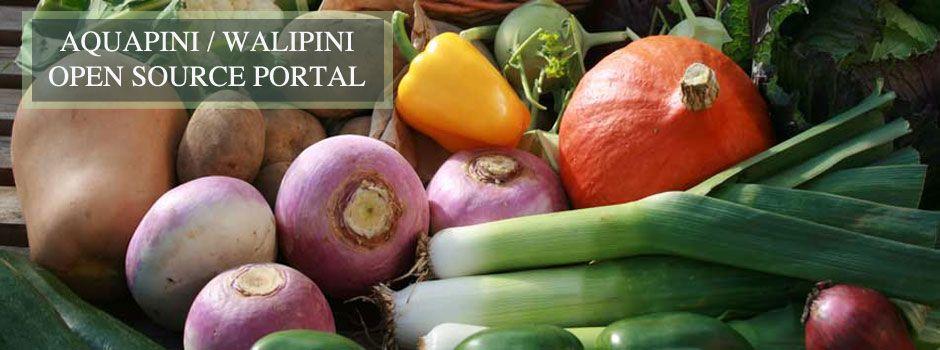 Aquapini and Walipini Open Source Hub Sustainable food