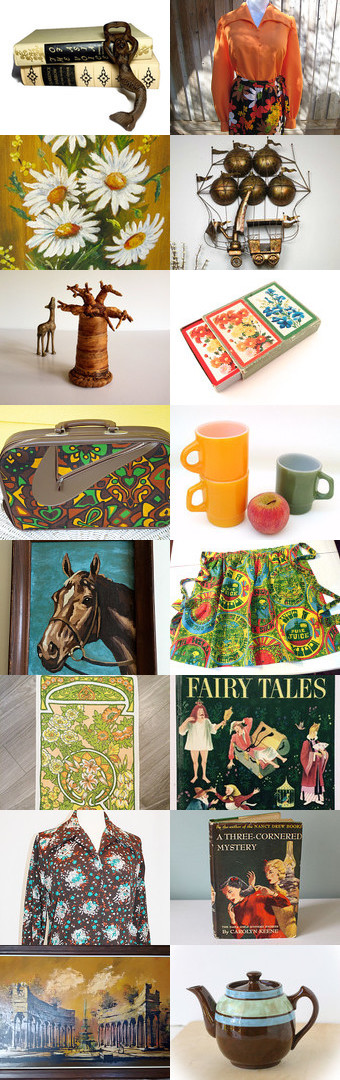 A Vintage Treasure Hunt. by livingavntglife on Etsy--Pinned with TreasuryPin.com