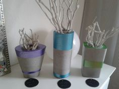 beton vasen