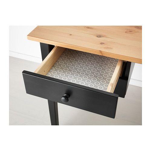 affordable arkelstorp desk black with bureau ecolier ikea. Black Bedroom Furniture Sets. Home Design Ideas