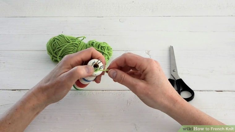 How to French Knit (with Pictures) - wikiHow