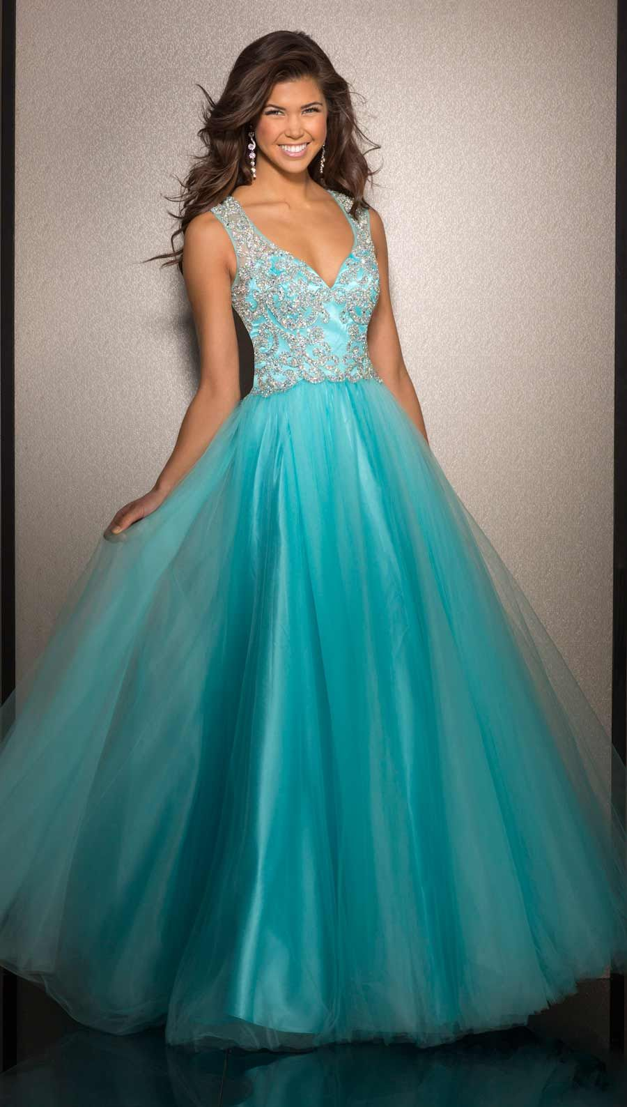 Clarisse Prom Dress 2638 | Ball gowns, Gowns and Turquoise