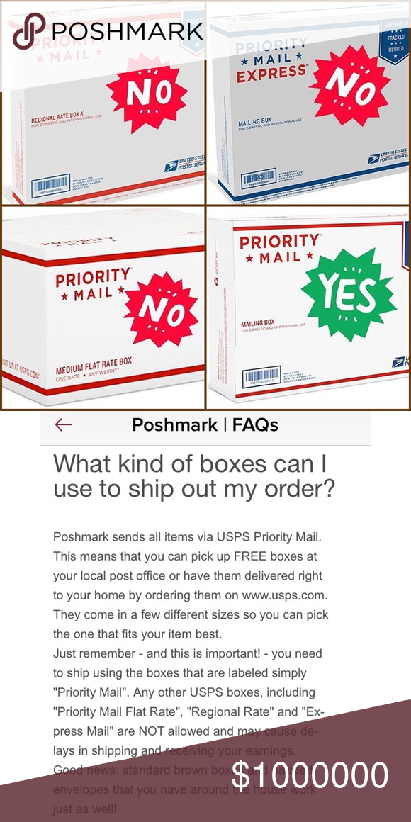 Are You Using The Correct Boxes You Can Order Free Priority Mail