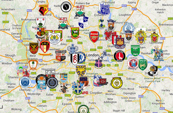 Beautiful Maps On Logos Soccer London Football Chelsea