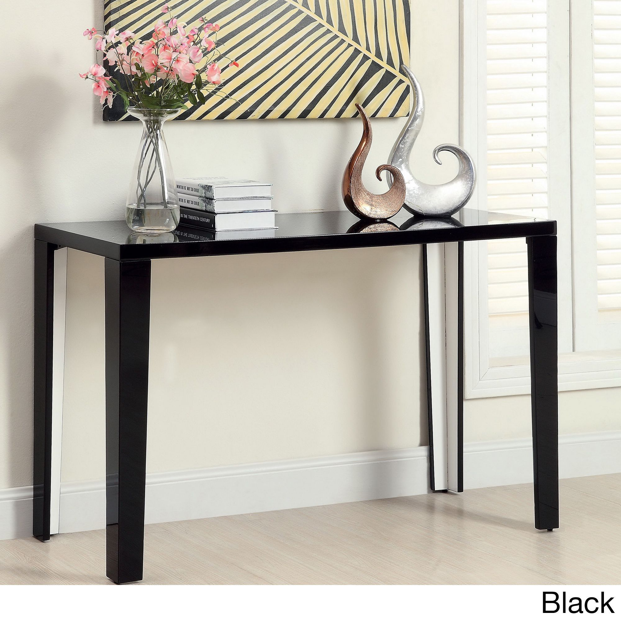 Furniture of america lorzi high gloss lacquer sofa table furniture of america lorzi high gloss lacquer sofa table overstock shopping the geotapseo Images