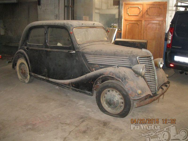 renault car ads | Renault berline 4 portes 1938 for sale | ghosts ...
