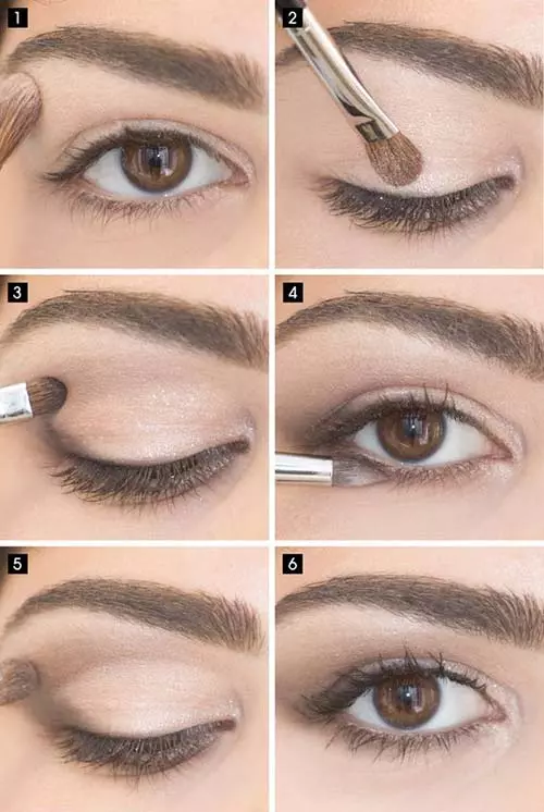 Simple Eye Makeup For Work Eyemakeupbright In 2020 Simple Eye Makeup Evening Eye Makeup Everyday Eye Makeup
