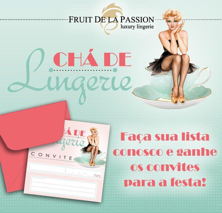 Chá de Lingerie na Fruit! no Blog da Fruit   by Fruit de la Passion