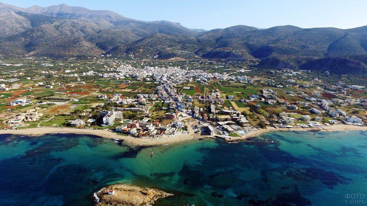 Фото острова Крит в 2020 г | Острова, Курорты, Побережье