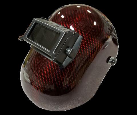 Sarge/'s Pancake Black Welding Hood Helmet Left Handed Regular Pipeline