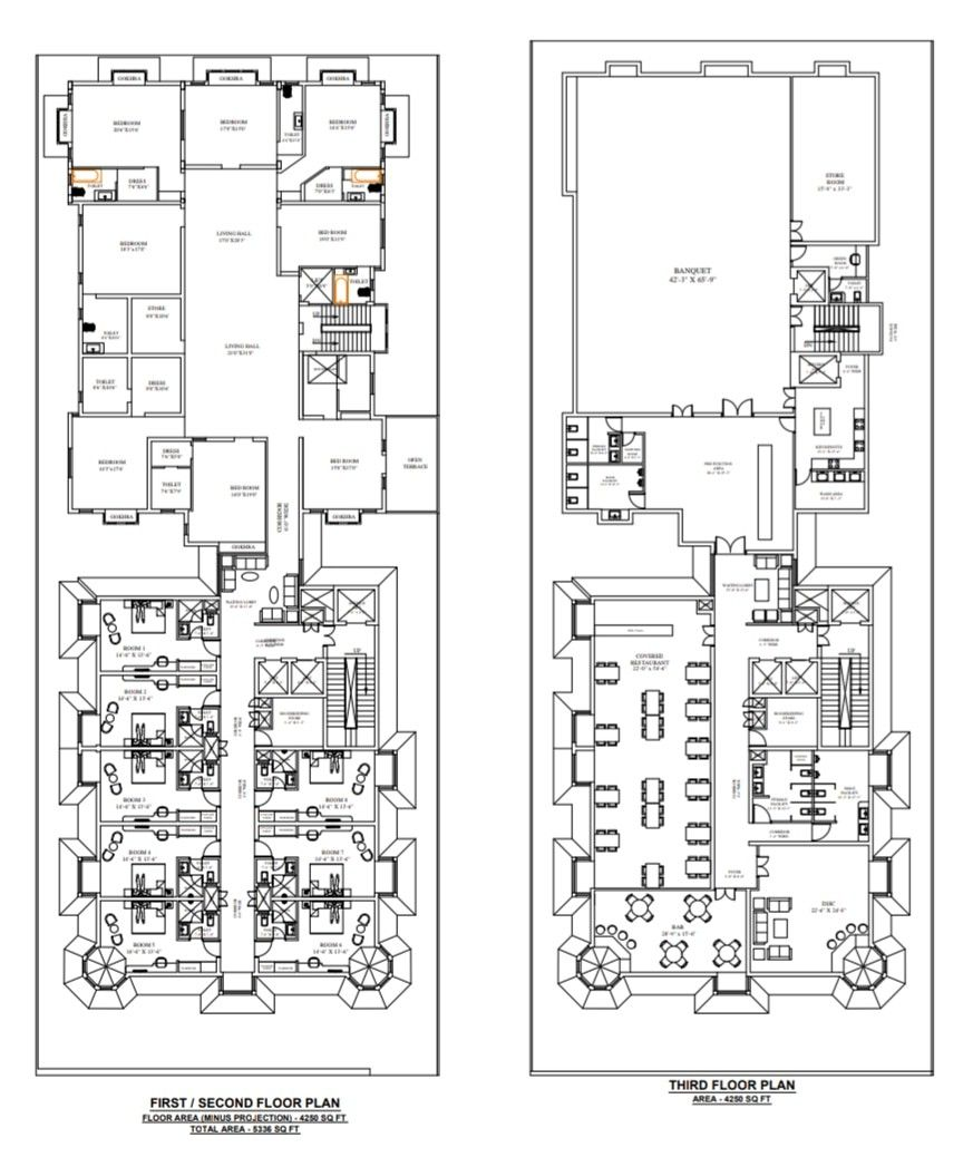 5 Star Hotel Plans Hotel Plans With Images Hotel Plan How