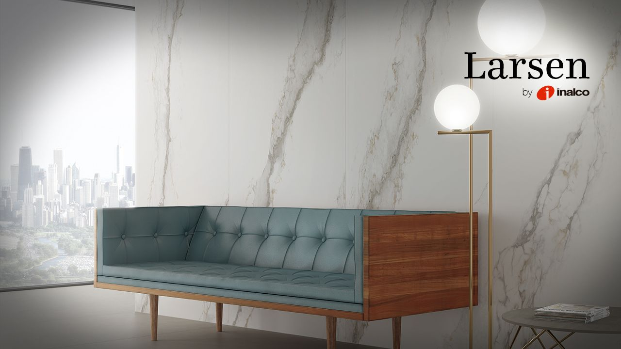 New Larsen Series is an elegant, large format collection full of personality and character.