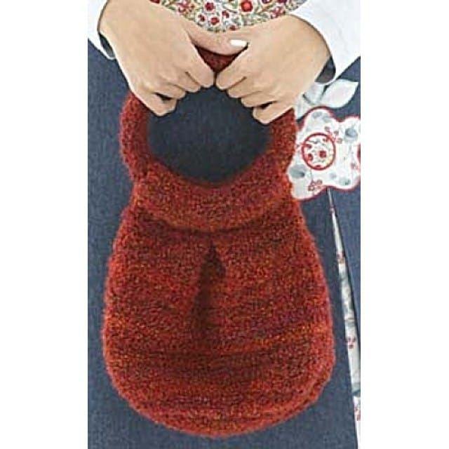 Red Hot Bag (Crochet) - Lion Brand Yarn   Hot bags, Lion ...