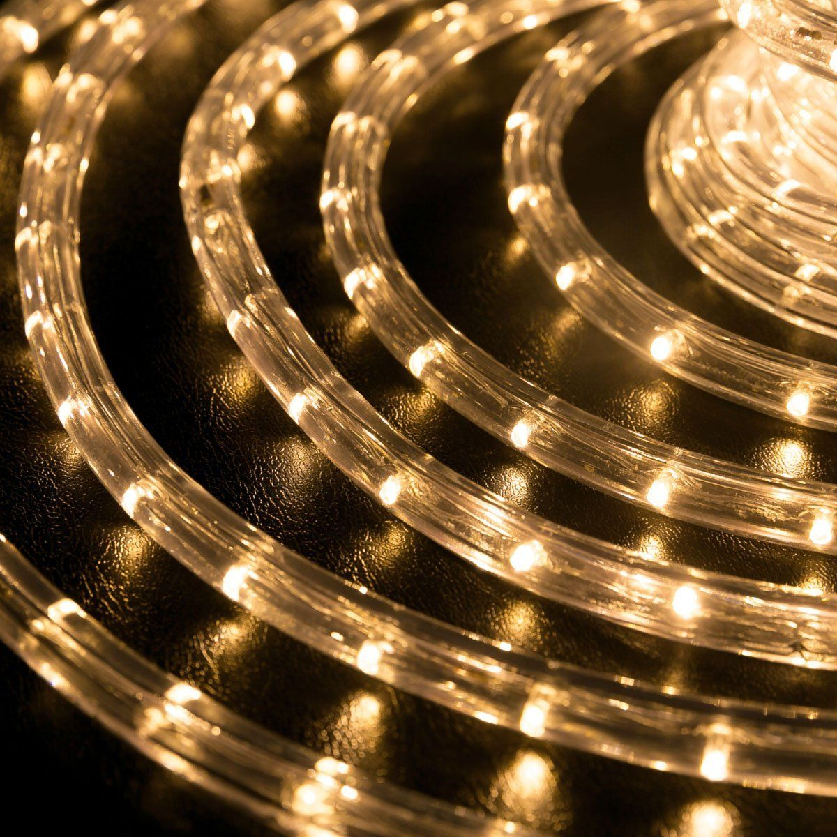 10 Ft Warm White 1 2 Diameter Led Rope Light Led Rope Lights
