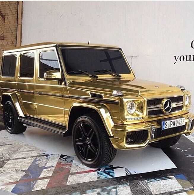 My Favorite Color I Need This Dream Cars Gold Mercedes Cars