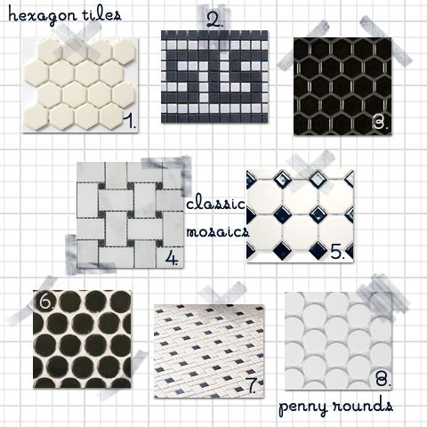 Vintage ceramic floor tile – Classic Bathroom Floor Tile