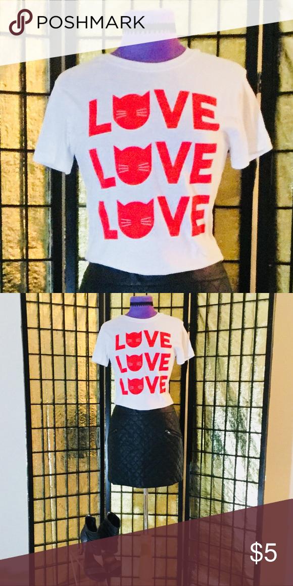 f9da6023b Yazbek Ella White Graphic T-Shirt Yazbek Ella White Graphic T-Shirt. Brand  New! Perfect condition! Rock her and spread the love!