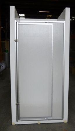 Fibreglass Shower With Shower Screen Sh06 Caravans Motorhome Rv