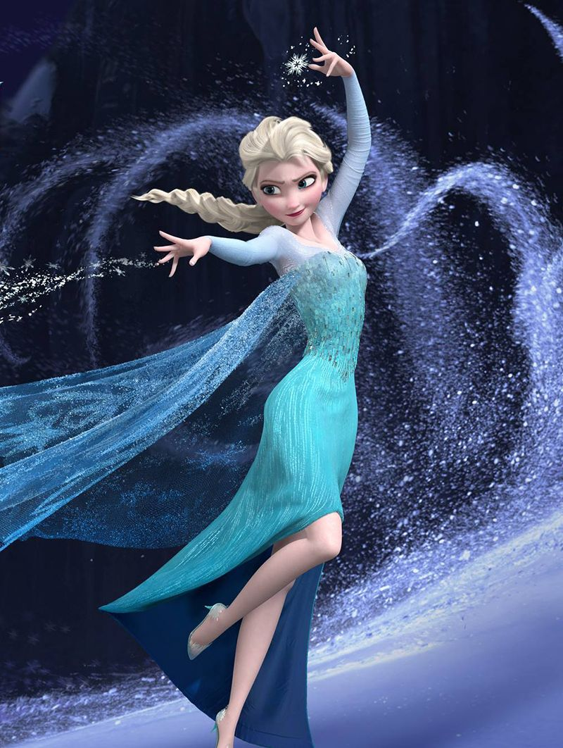 Meet Elsa From Frozen From The Outside Elsa Looks Poised Regal