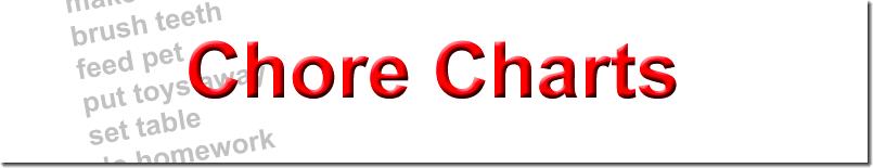 Dozens of free printable chore charts, behavior charts and reward ...