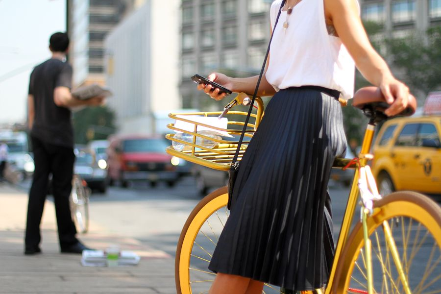 IMG_6573-Clochet New York fashion week pleated skirt