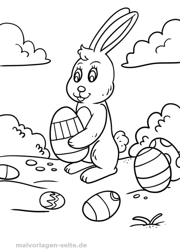 Malvorlagen Ostern Malvorlage Ostern Osterhase Gratis Malvorlagen Zum Download Vorlage