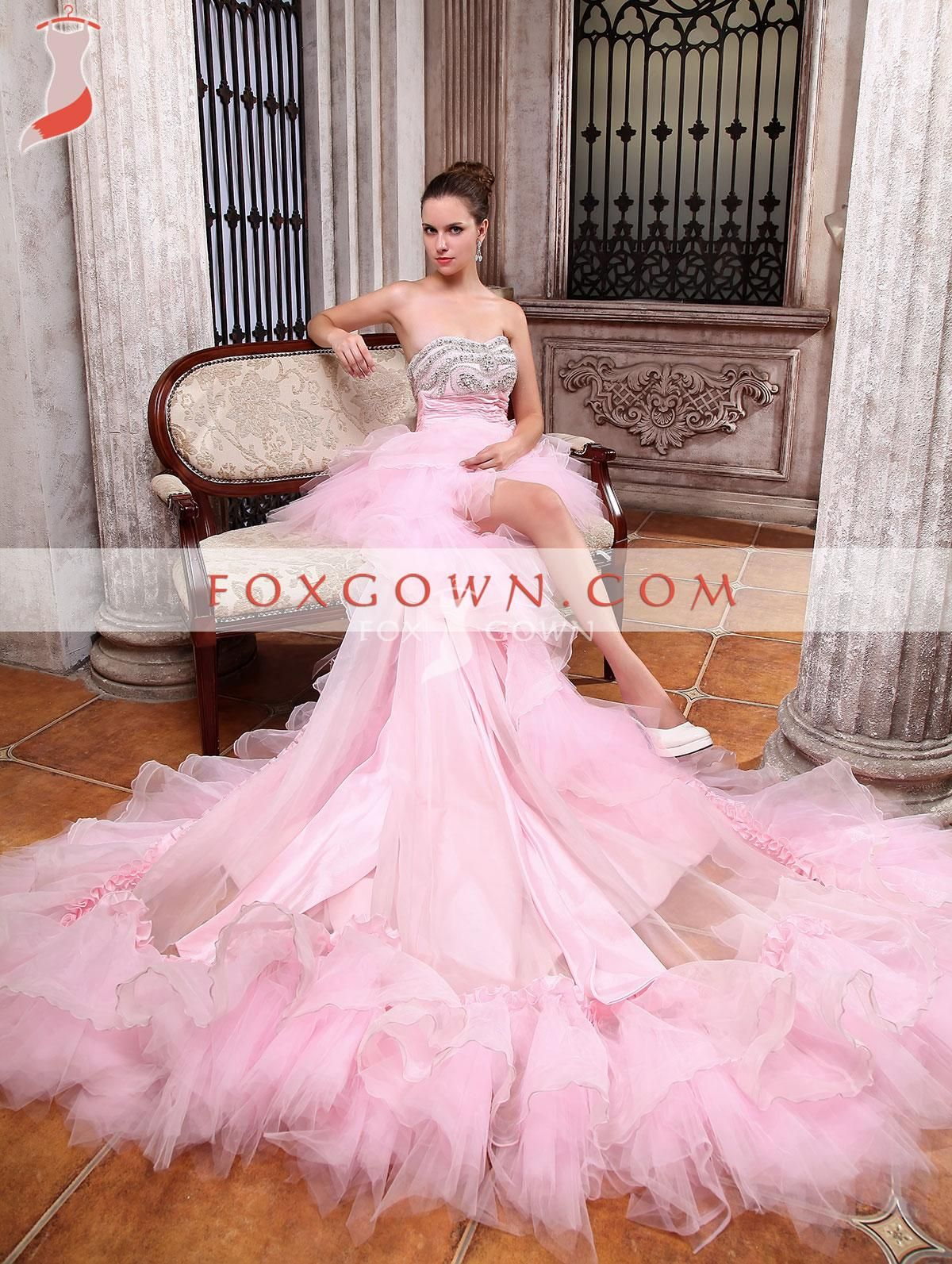 strapless princess wedding dress with beaded sequin bodice $425 ...