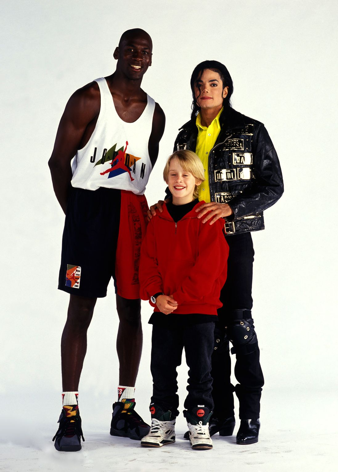 M - Michael Jordan, Michael Jackson and Macaulay Culkin