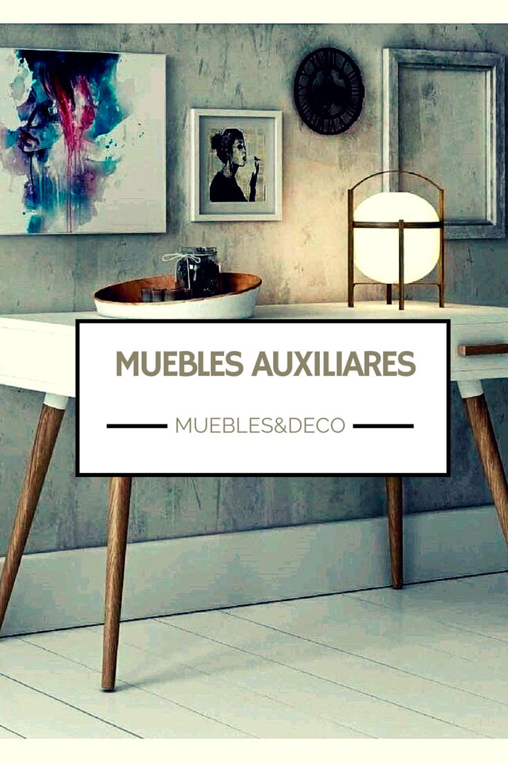 Descubre todo tipo de muebles auxiliares para decorar tu hogar ...