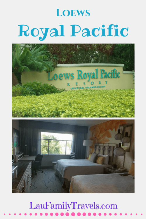 Loews Royal Pacific Resort Review Universal Orlando Universal