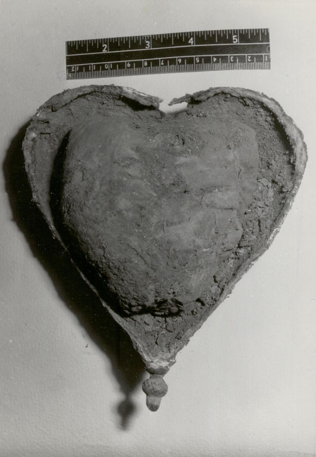 Egmont S Heart Inside The Opened Heart Shaped Lead Box