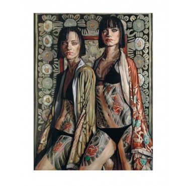 Kimono Girls By Belinda Eaton: Category: Art Currency: GBP Price: GBP275.00 Retail Price: 275.00 Limited Edition Contemporary Art Giclee…